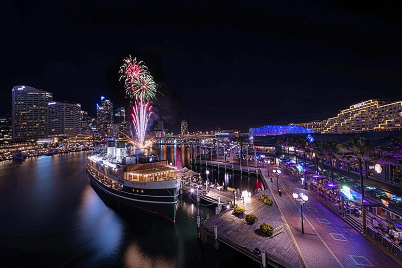 Darling Harbour Fireworks, Sydney. Australia. Photo credit: Nigel Howe via Flickr CC