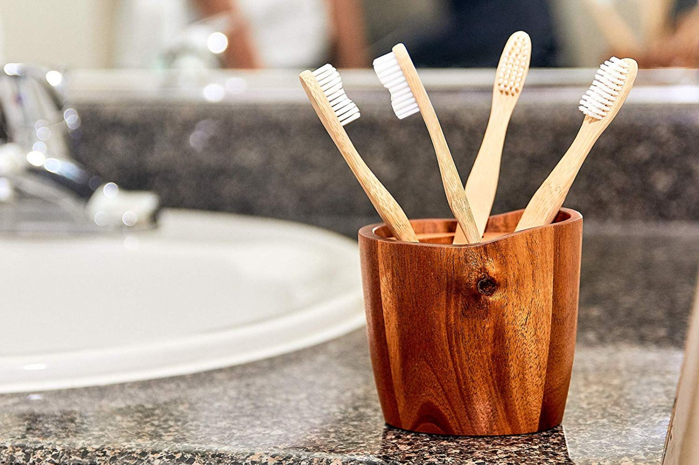 Bamboo toothbrush - our favourite travel accessories
