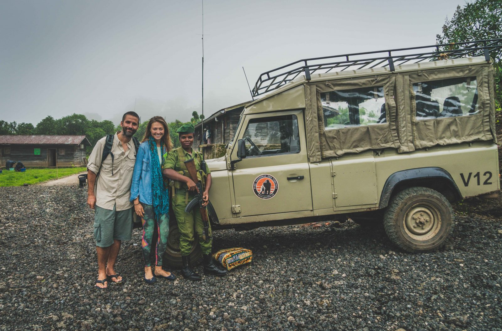 In good hands with our ranger, Ali