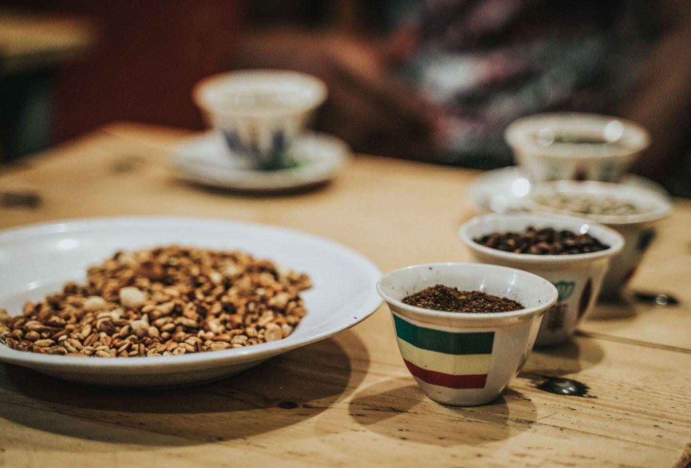 Coffee time in Addis Abba