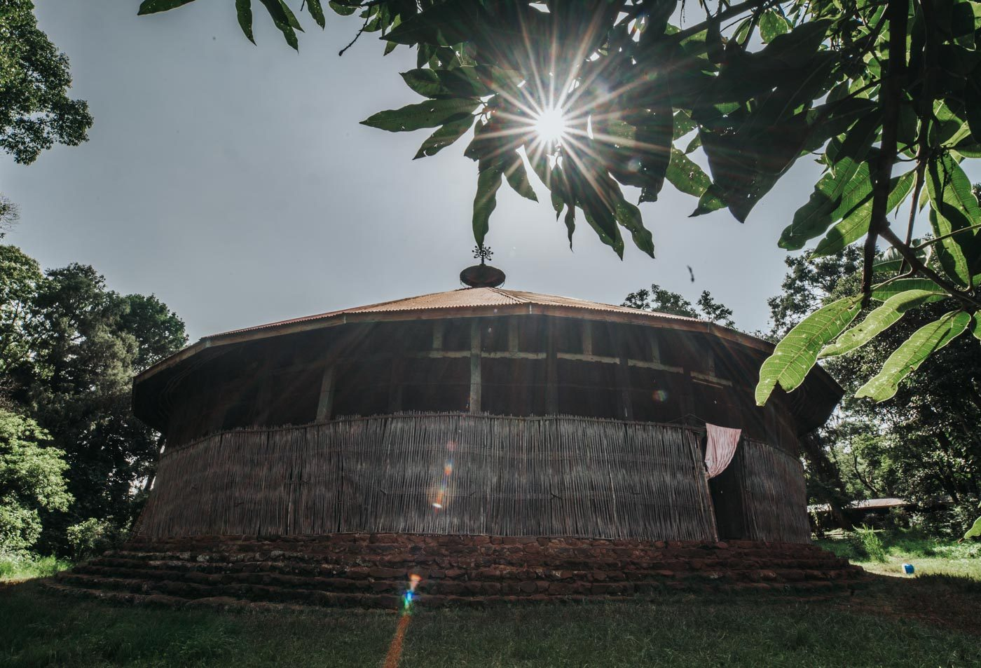 Church on Lake Tana. Bahir Dar, Ethiopia