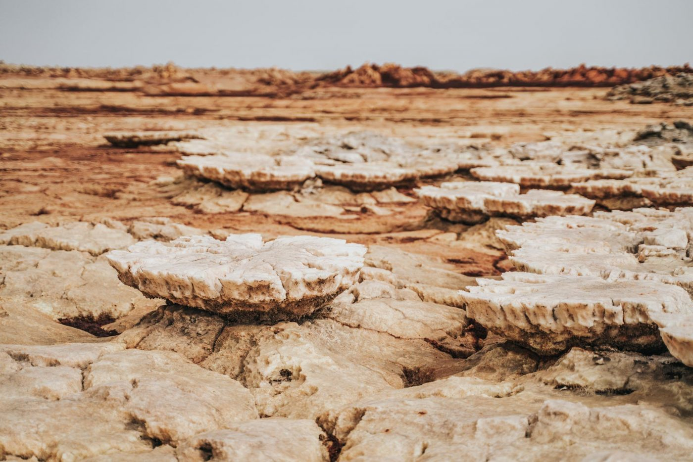 Danakil Depression driest place on earth