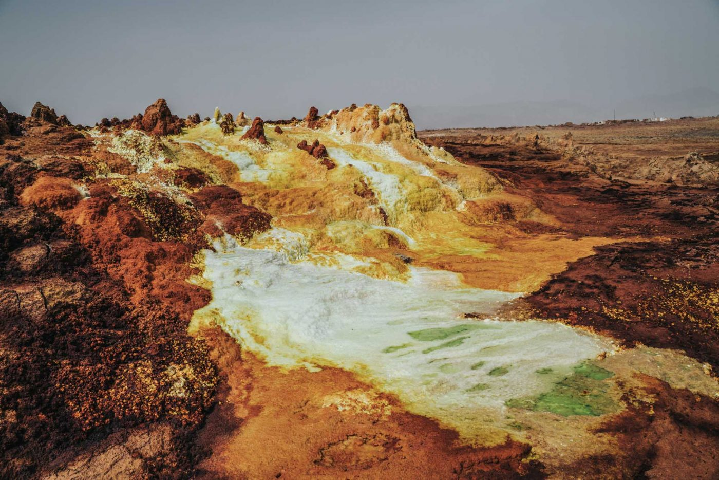 Dallol, Danakil Depression, Northern Ethiopia
