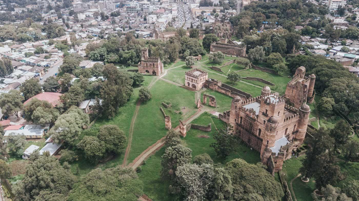 Royal Enclosure, Gonder, Northern Ethiopia