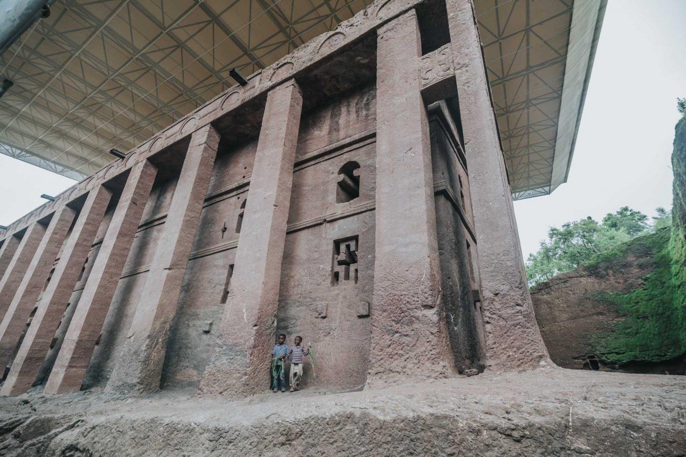 Biete Medhane Alem Church, Lalibela, Ethiopia