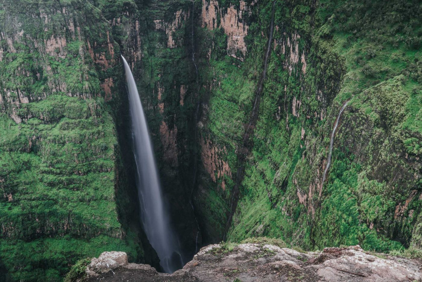 Jinbar Waterfall, Simien Mountains National Park