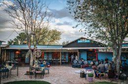 Restaurant and bar at Etosha Safari Camp