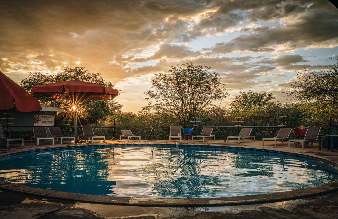 Pool at Etosha Safari Camp