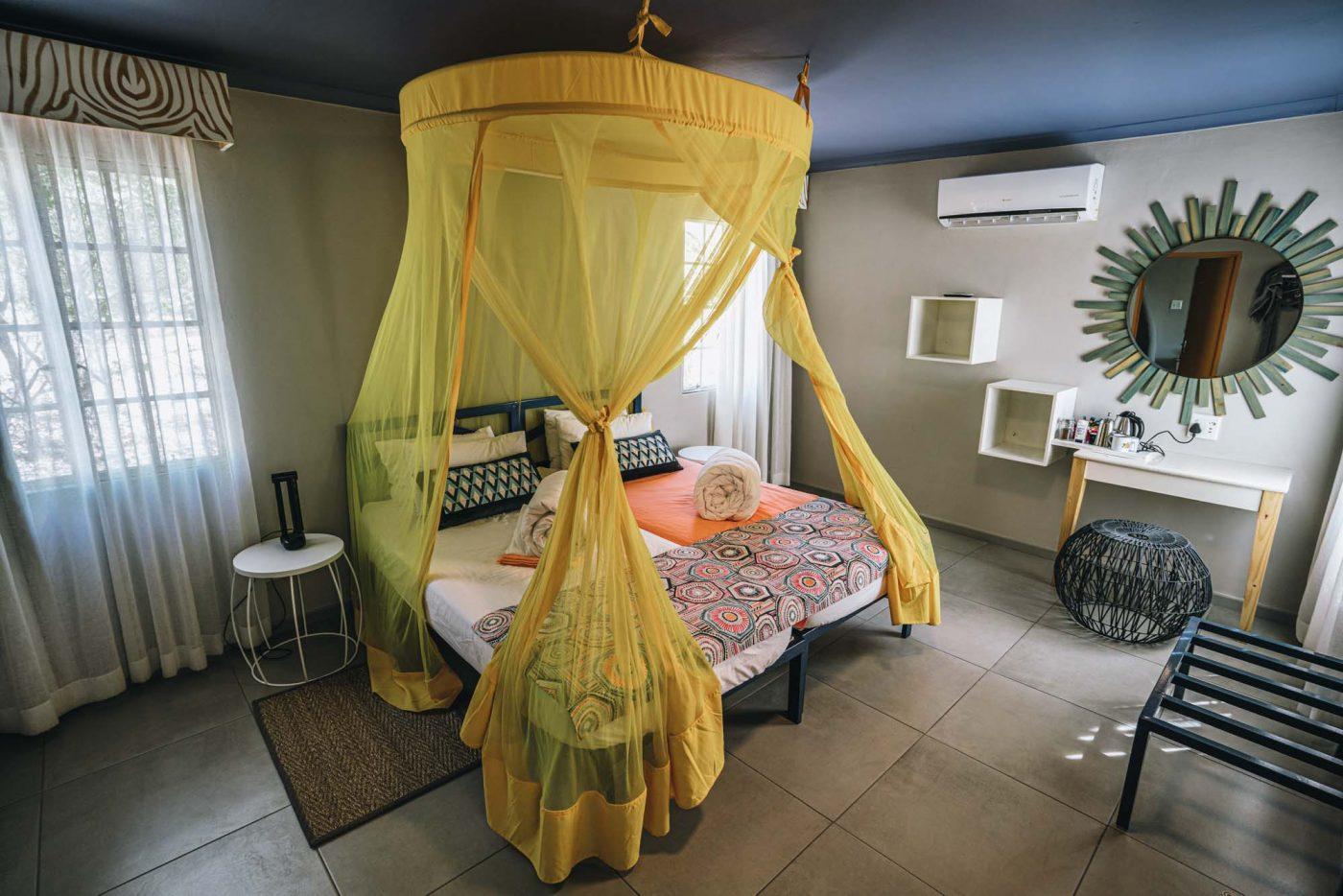 Twin Room at the Etosha Safari Lodge