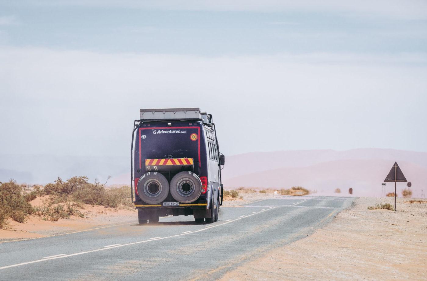 G Adventures Tour in Namibia