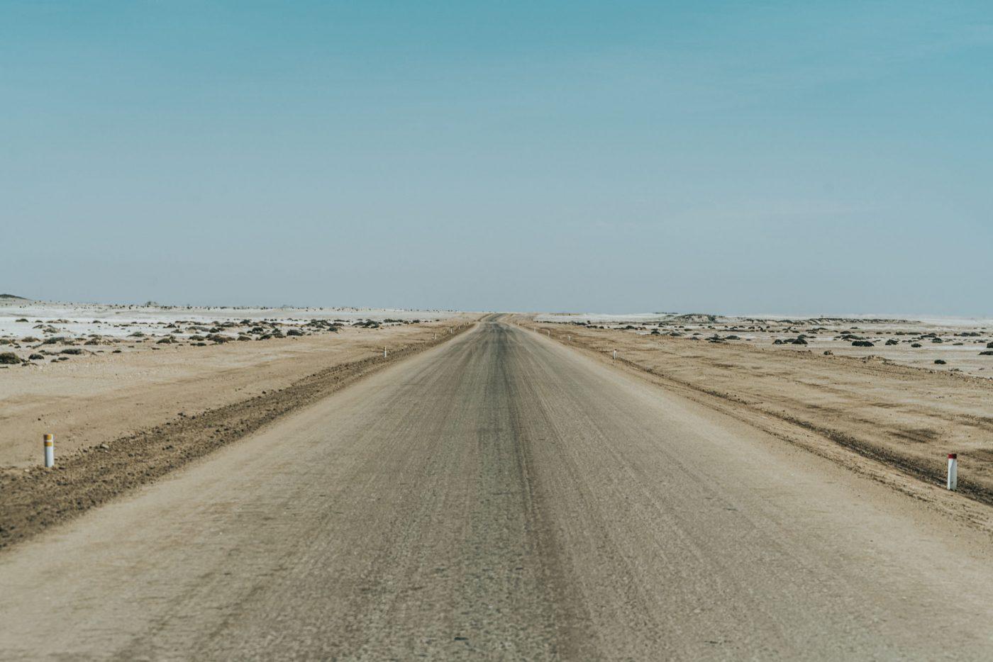 Driving along the Skeleton Coast