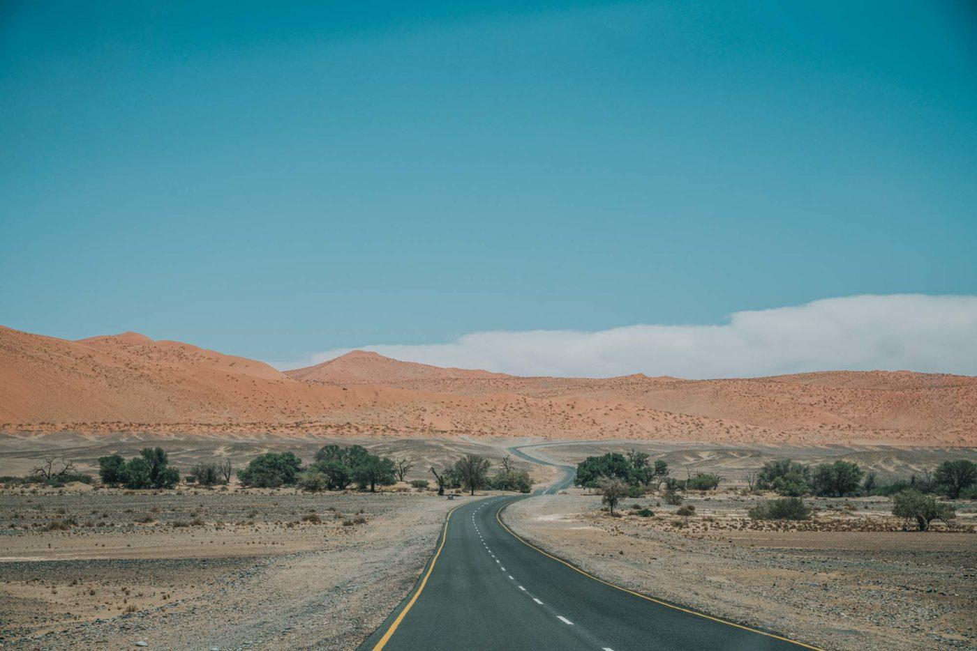Road to Sossusvlei, Namibia