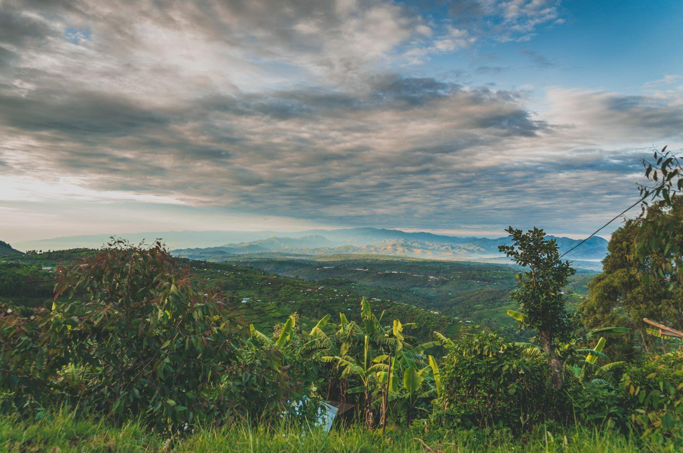 rwanda gorilla safaris scenery