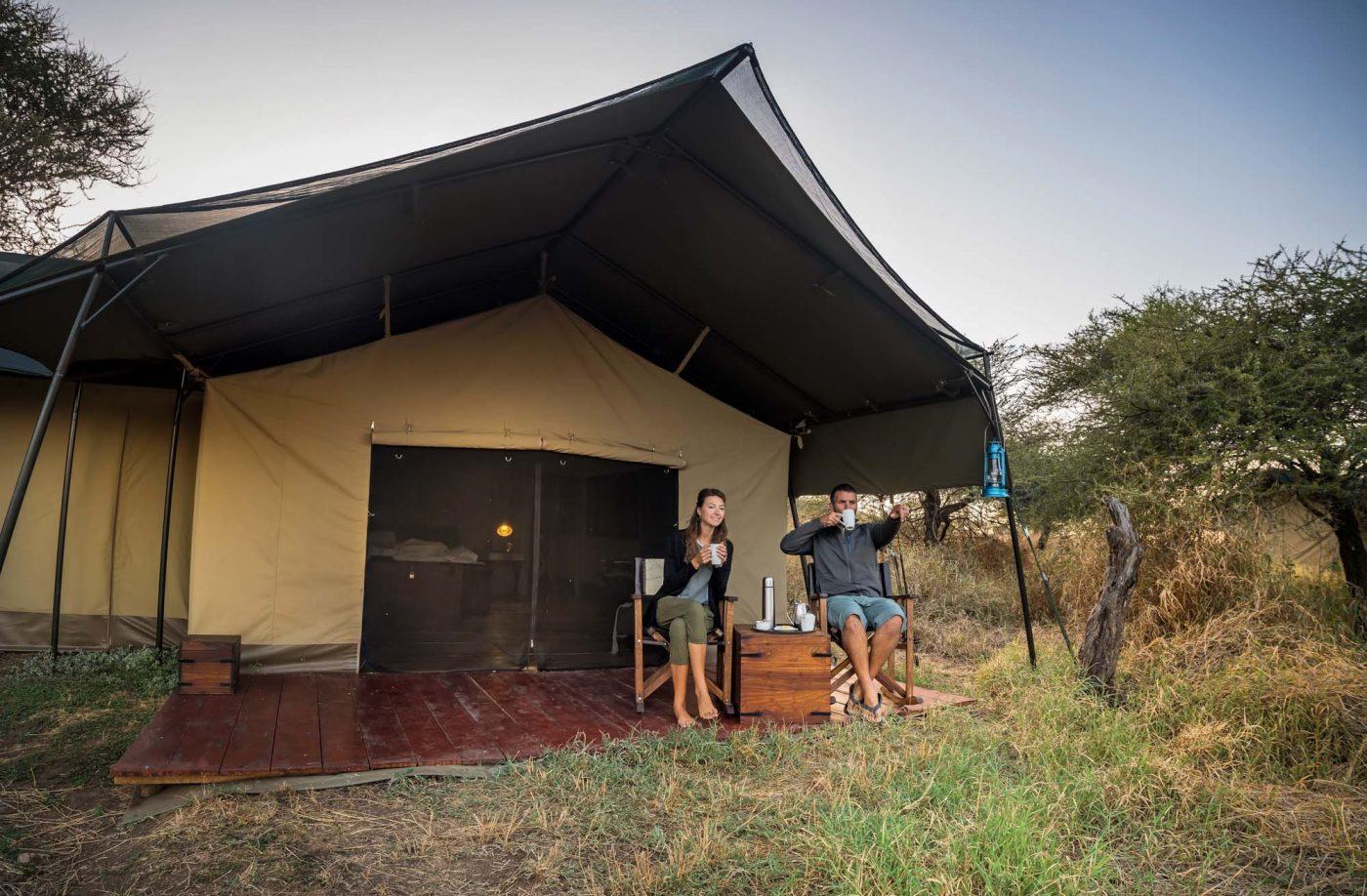 Lemala Ewanjan Serengeti Safari camping