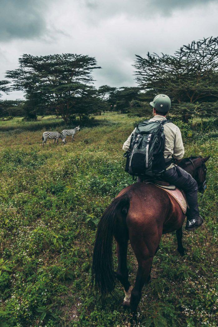 Lemala, horseback ride