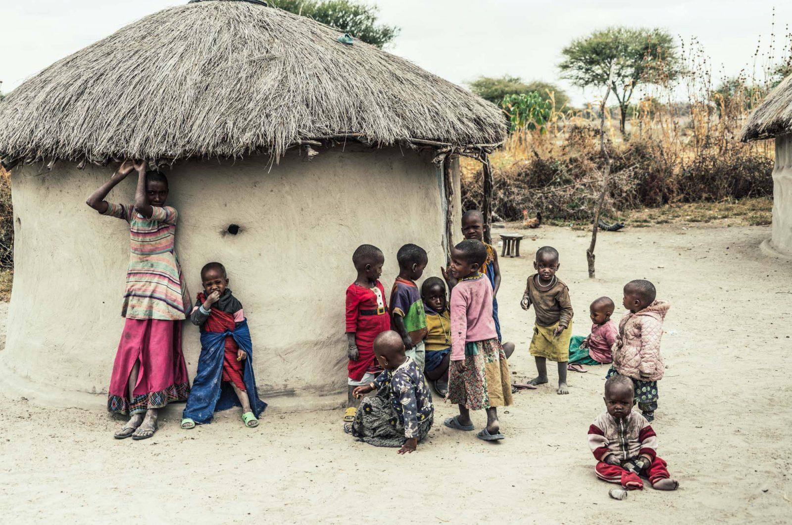 Maasai village, Serengeti