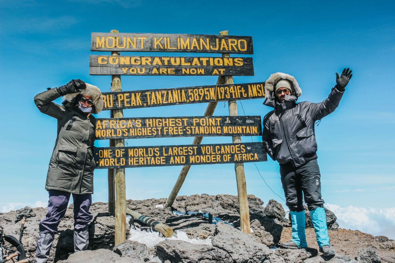 Africa Tanzania Mt Kilimanjaro O&M summit-6139