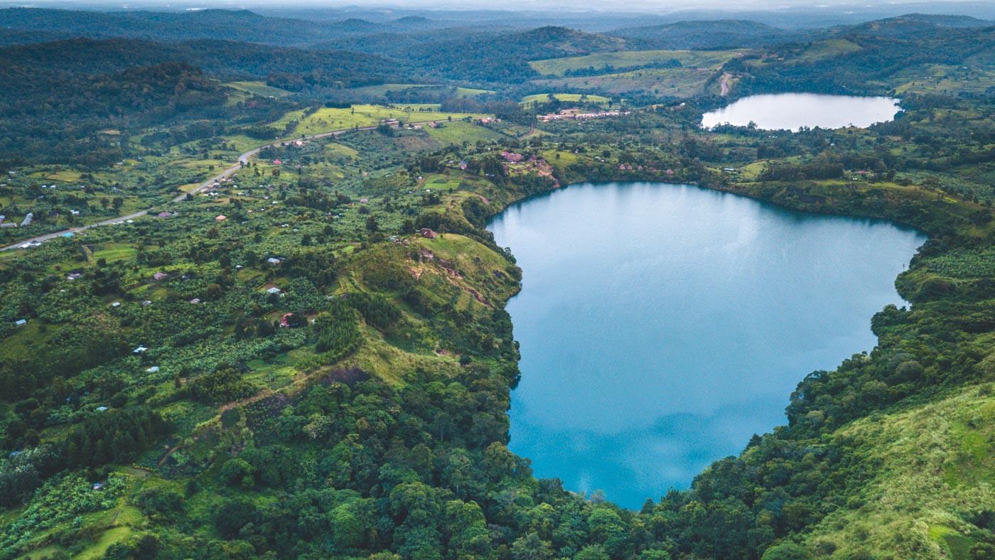 Crater Lakes, Uganda