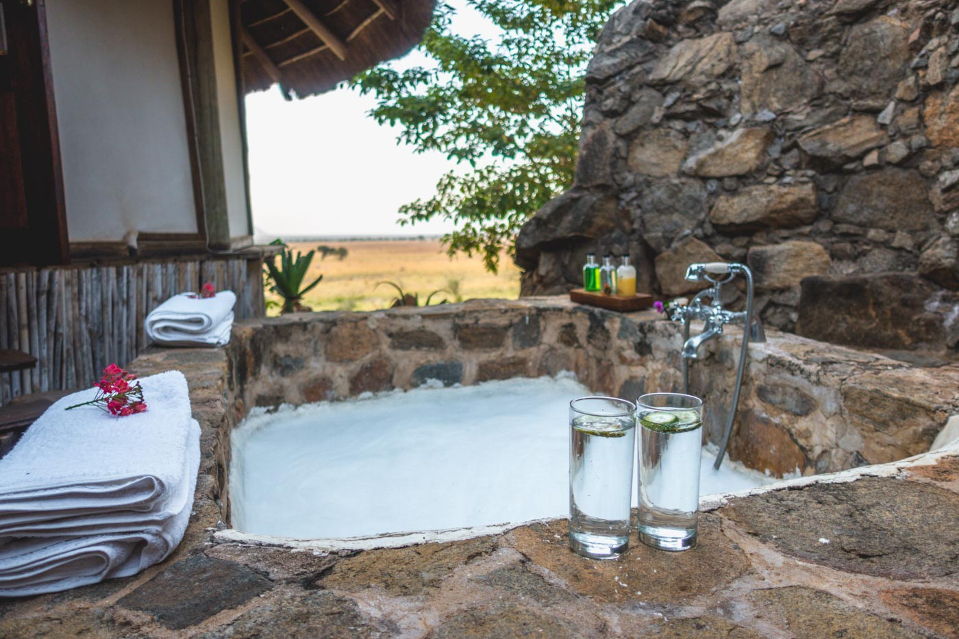 Eco-luxury at its best at Apoka Lodge in Kidepo National Park in Northern Uganda