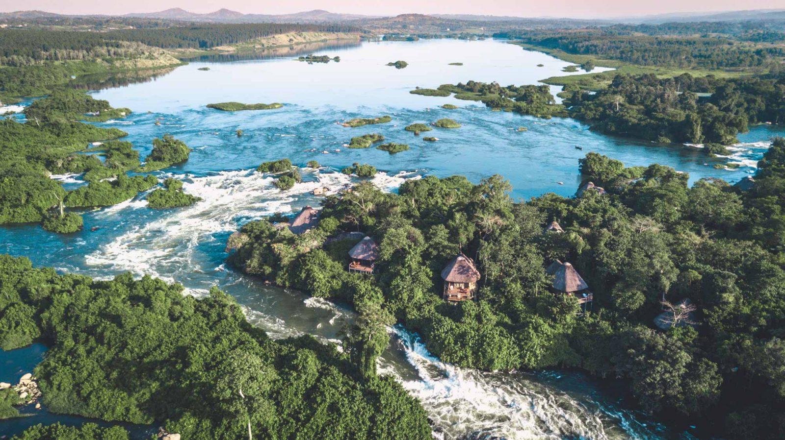 The source of the Nile River, Jinja, Southern Uganda