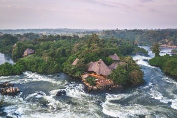 Staying at the Wildwaters Lodge on the Nile River in Uganda
