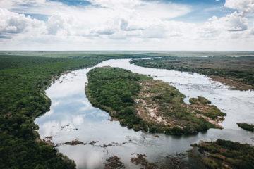 Staying at Tsowa Safari Island Camp on Zambezi River in Zimbabwe