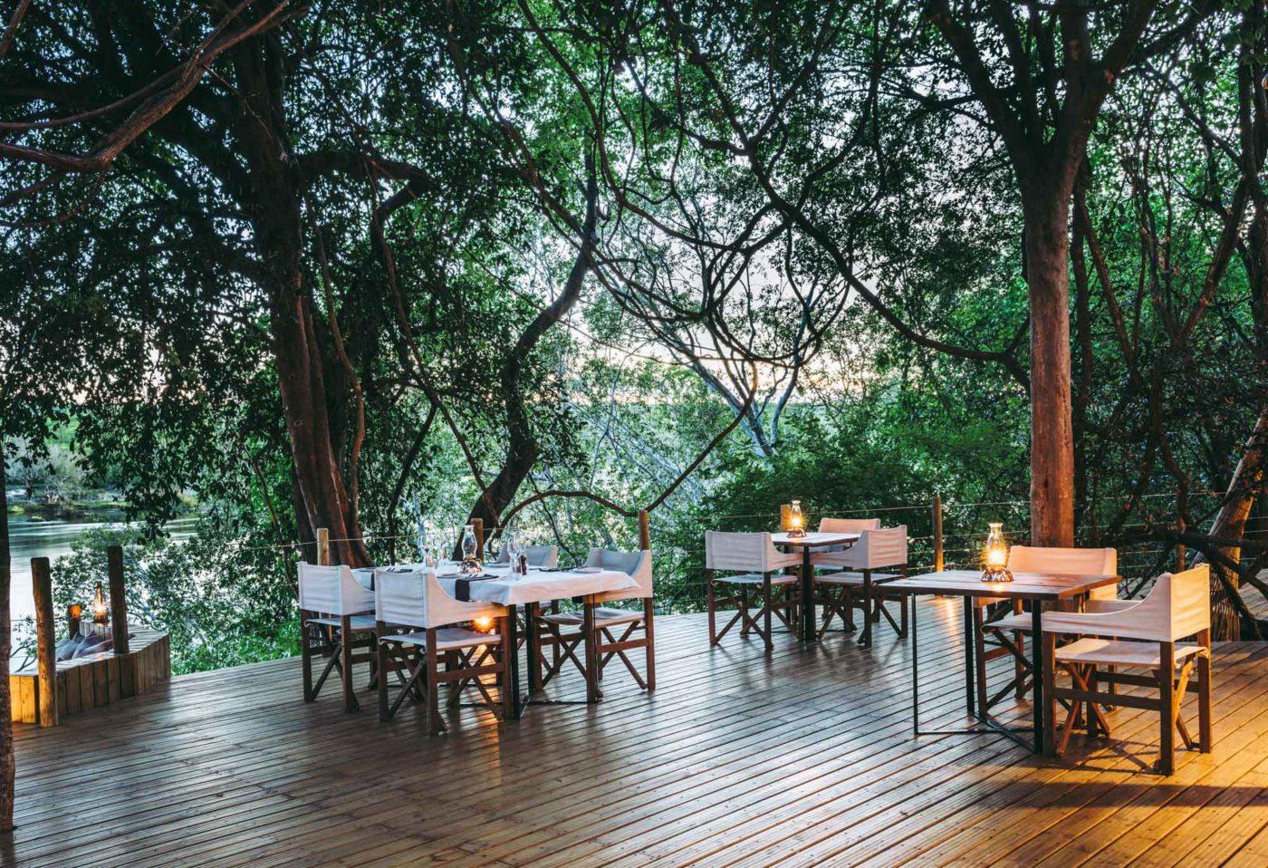 Tsowa Safari Island, Zambezi River, Zimbabwe