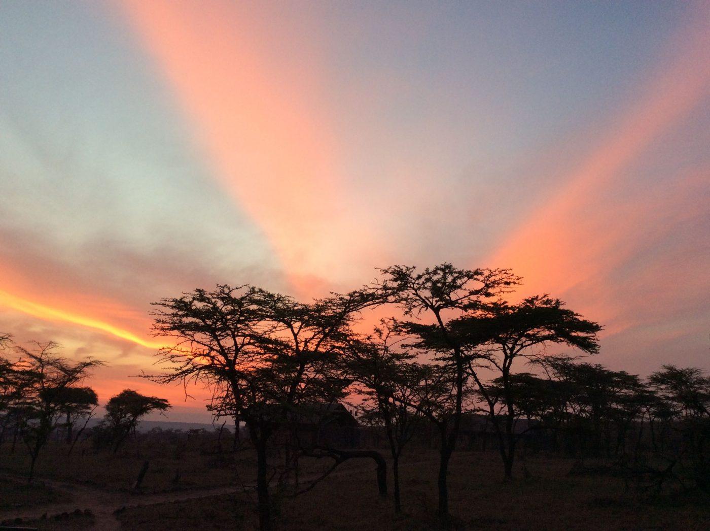 Safari Lodges in Kenya: Afircan sunset