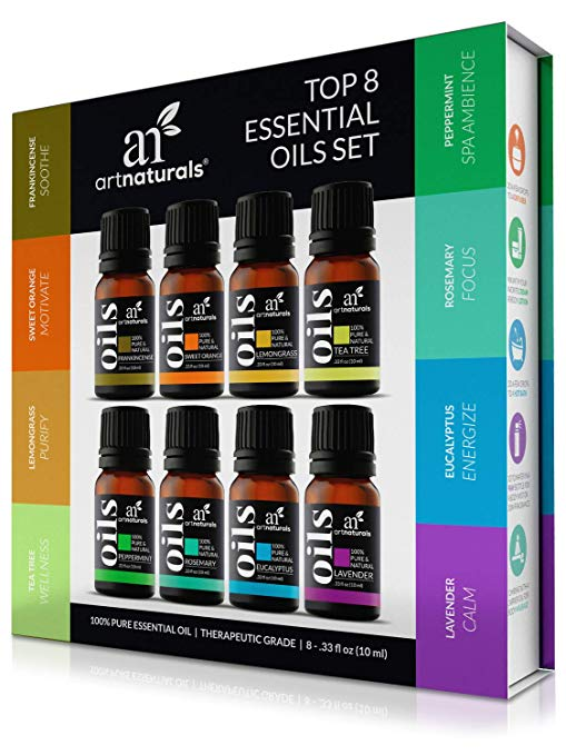 essential oils, an eco friendly gift