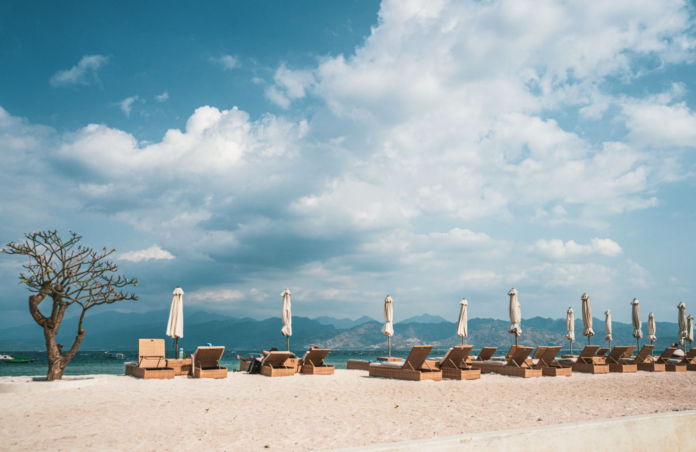 Beach vibes at Gili Trawangan