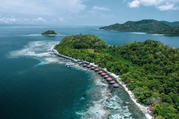 Staying at Papua Paradise Eco Resort in Raja Ampat, Indonesia