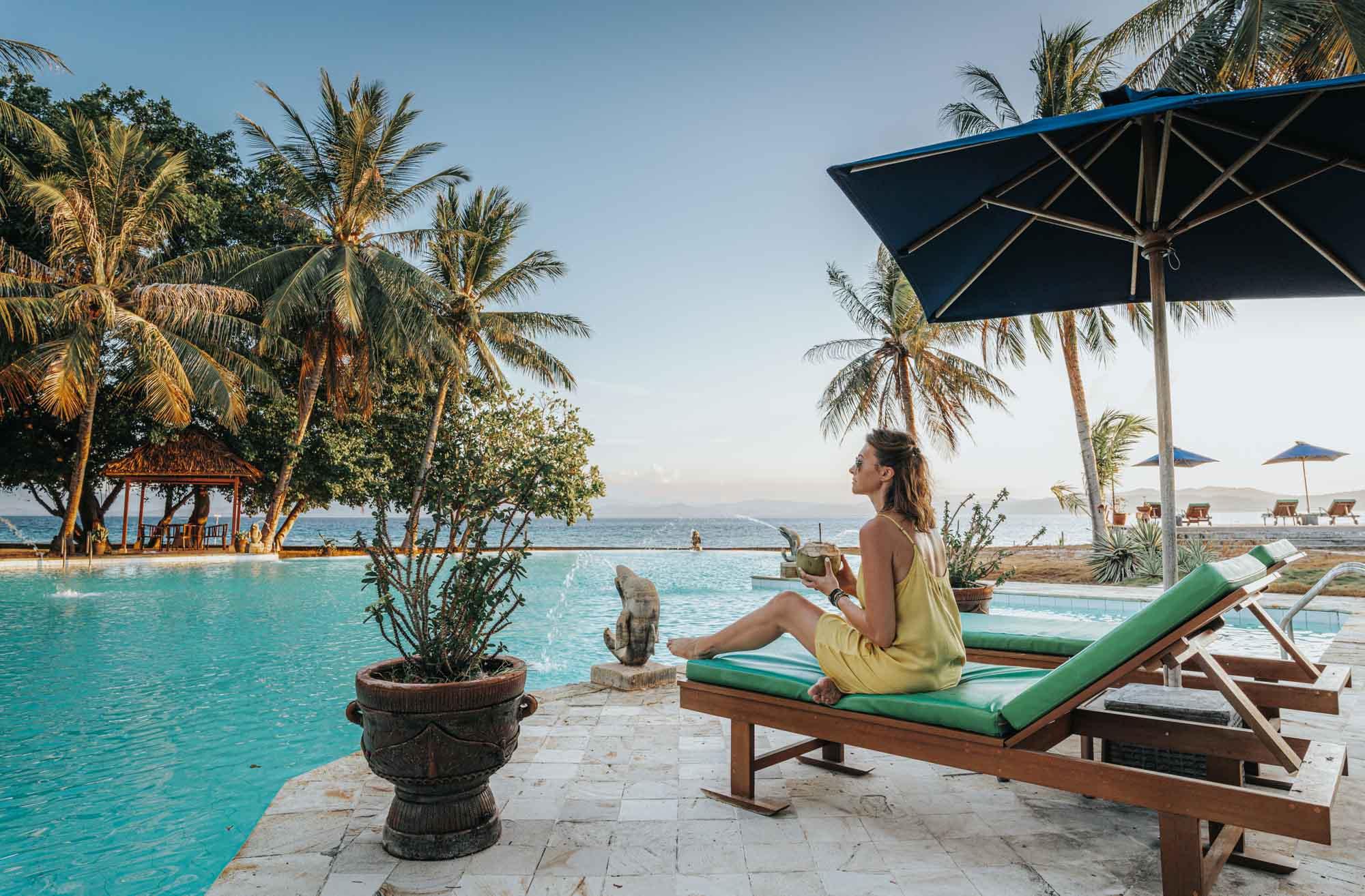 Pool at the Gangga Island Resort & Spa