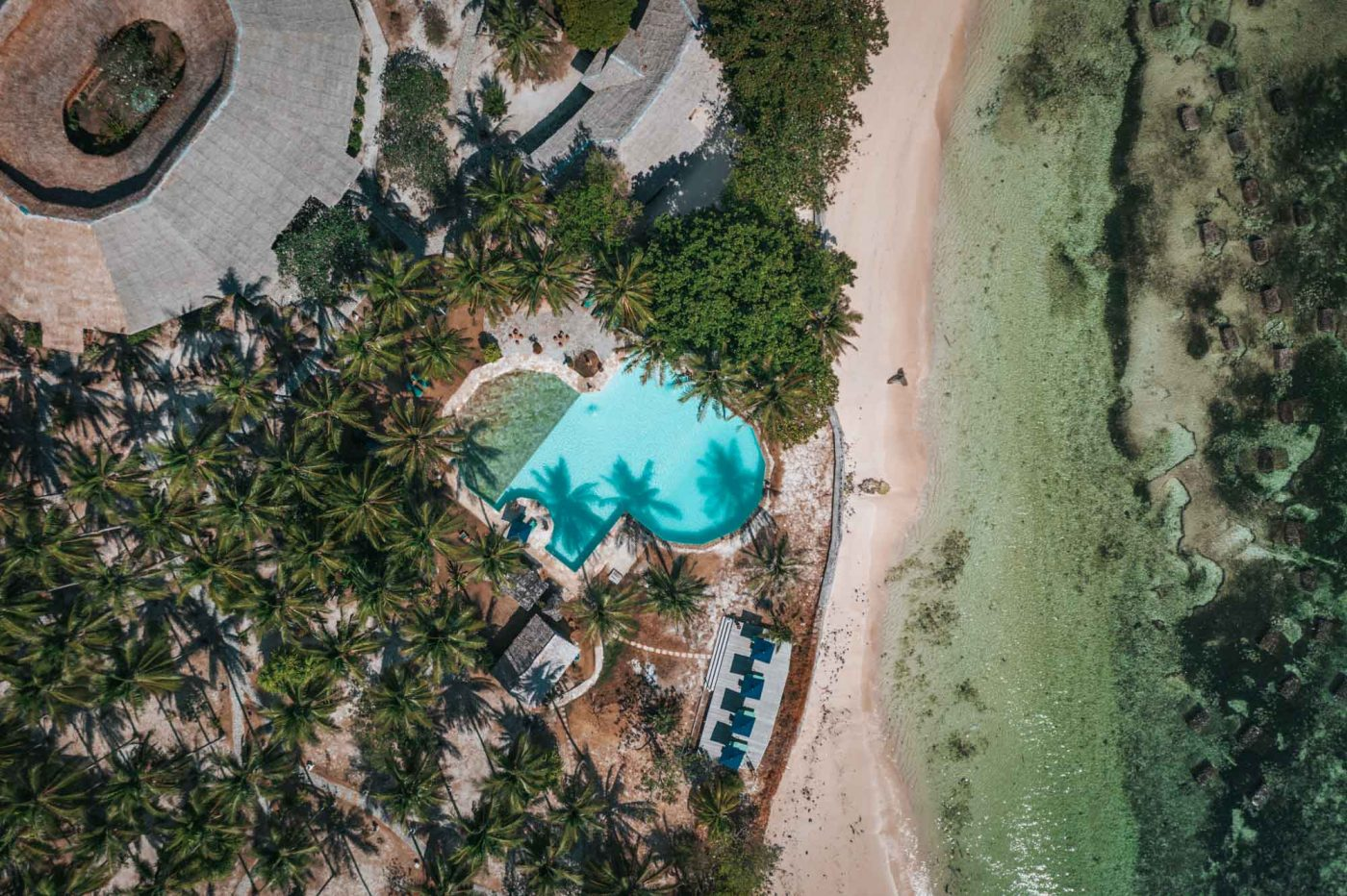 Gangga Island Resort & Spa. View from above