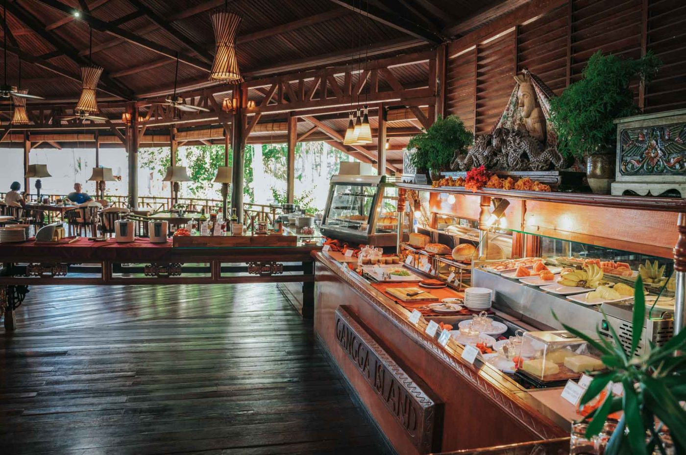 Restaurant at Gangga Island Resort & Spa