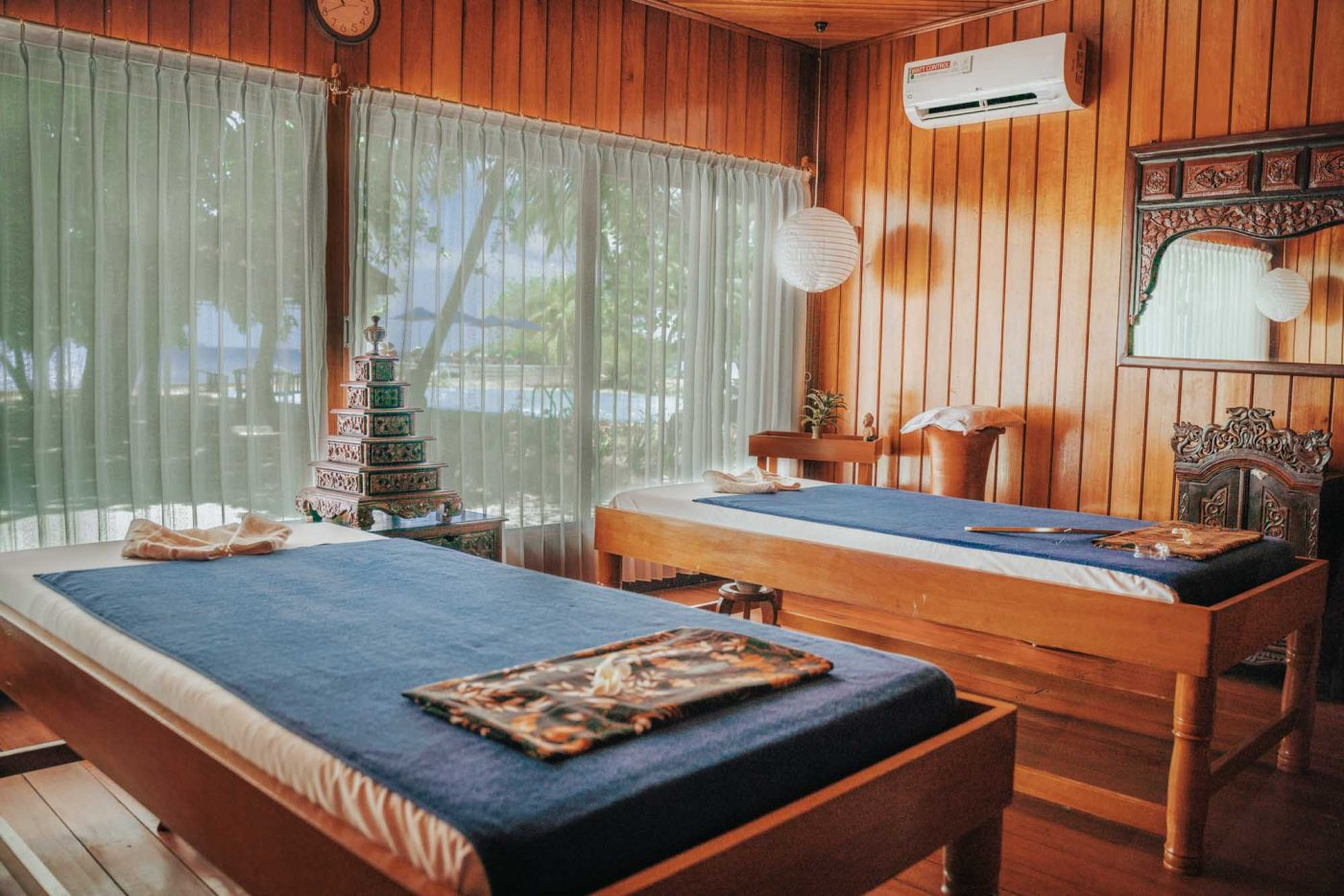 Pasung Spa at the Gangga Island Resort & Spa