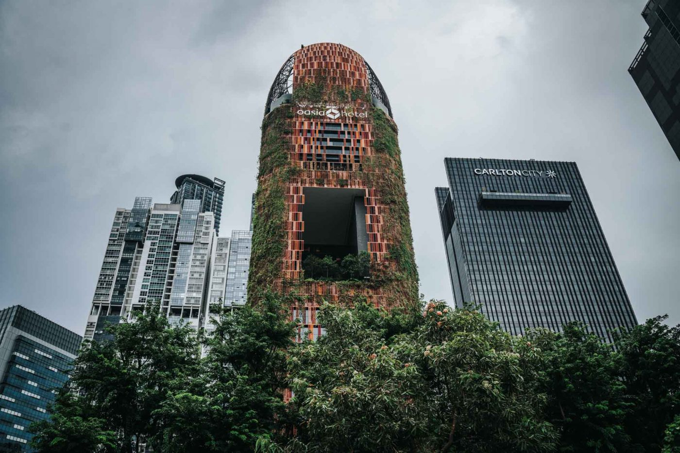 Oasia Hotel, Singapore