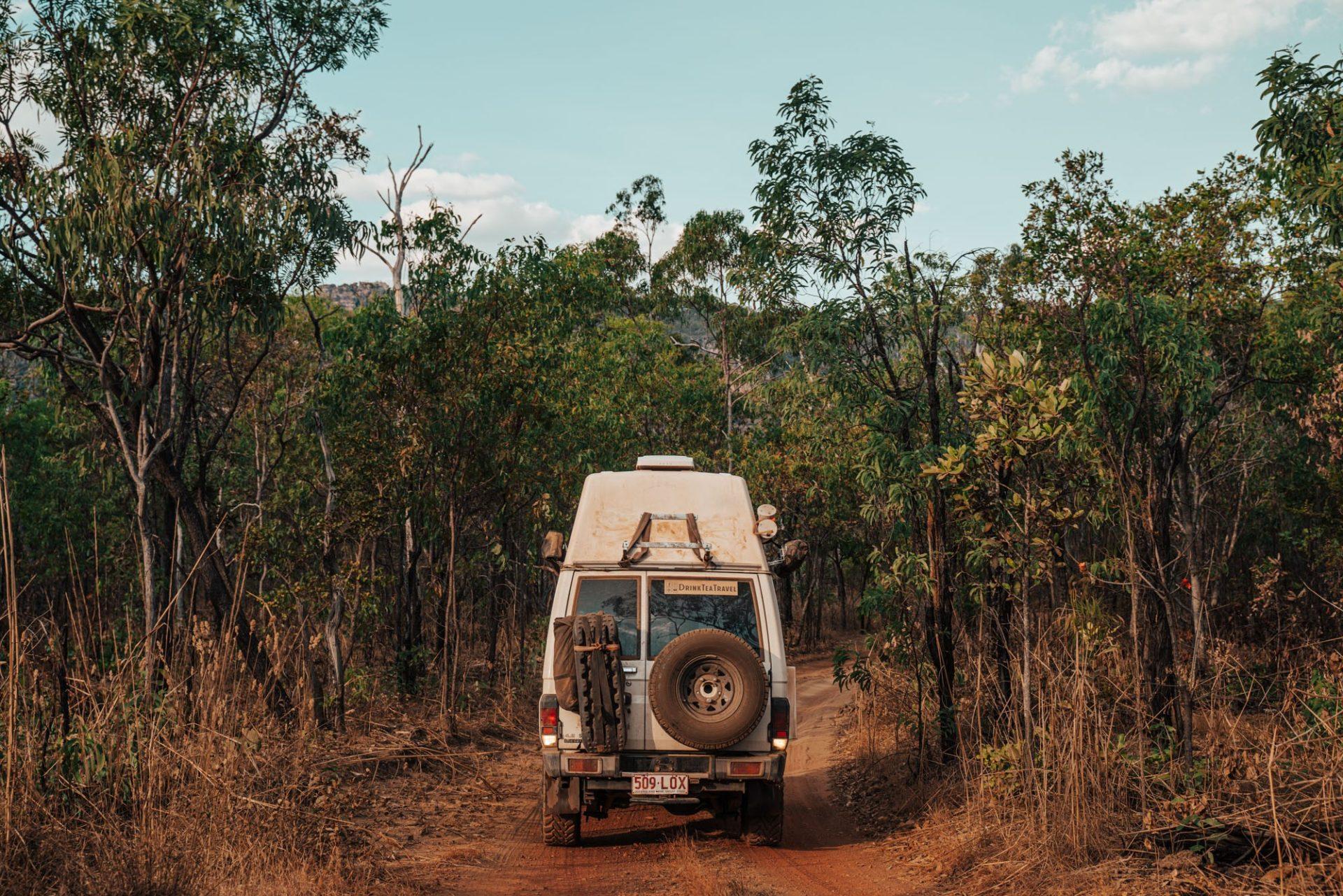 Driving around Kakadu National Park