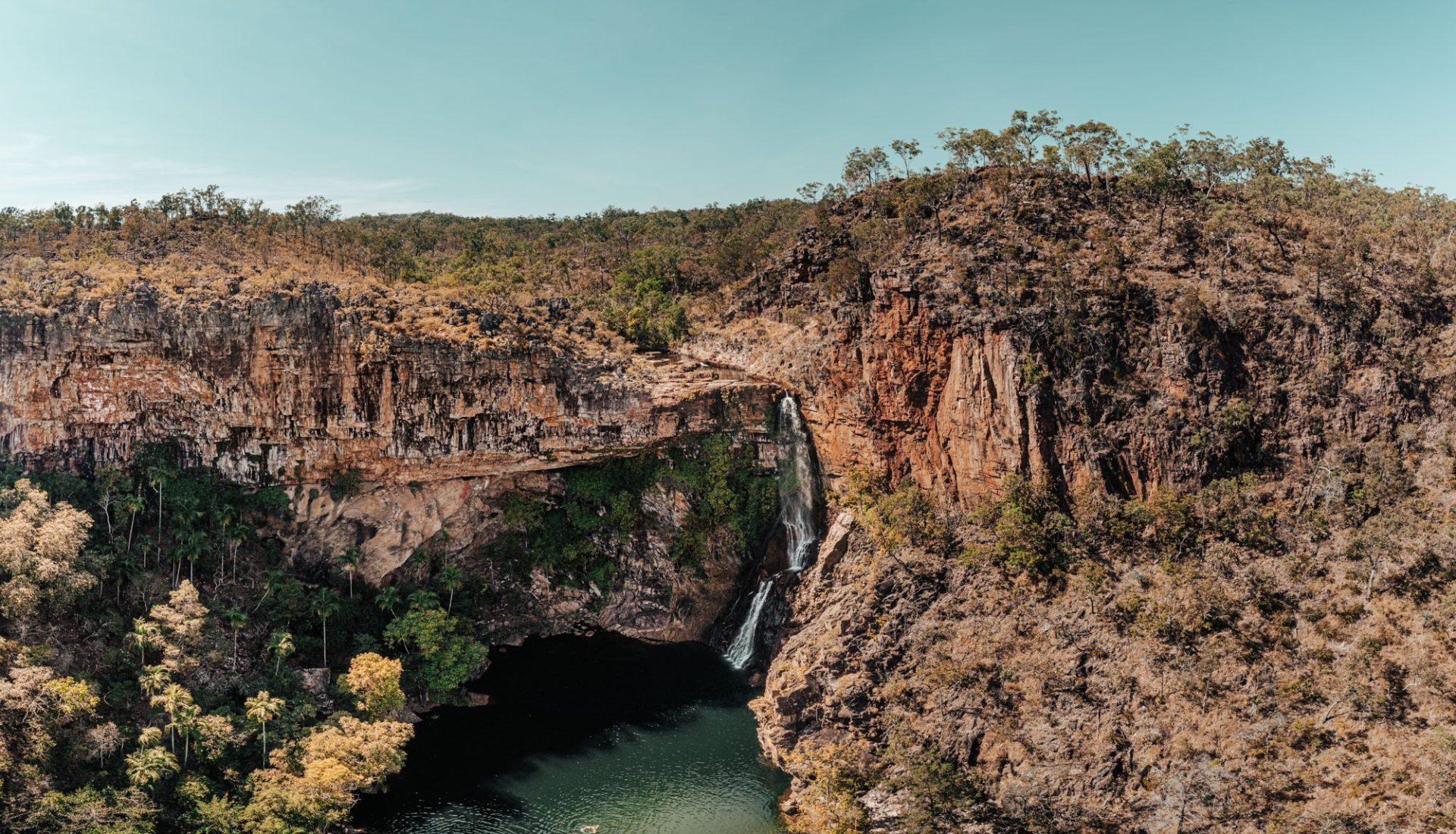Tjaynera Falls (Sandy Creek Falls). Litchfield National Park
