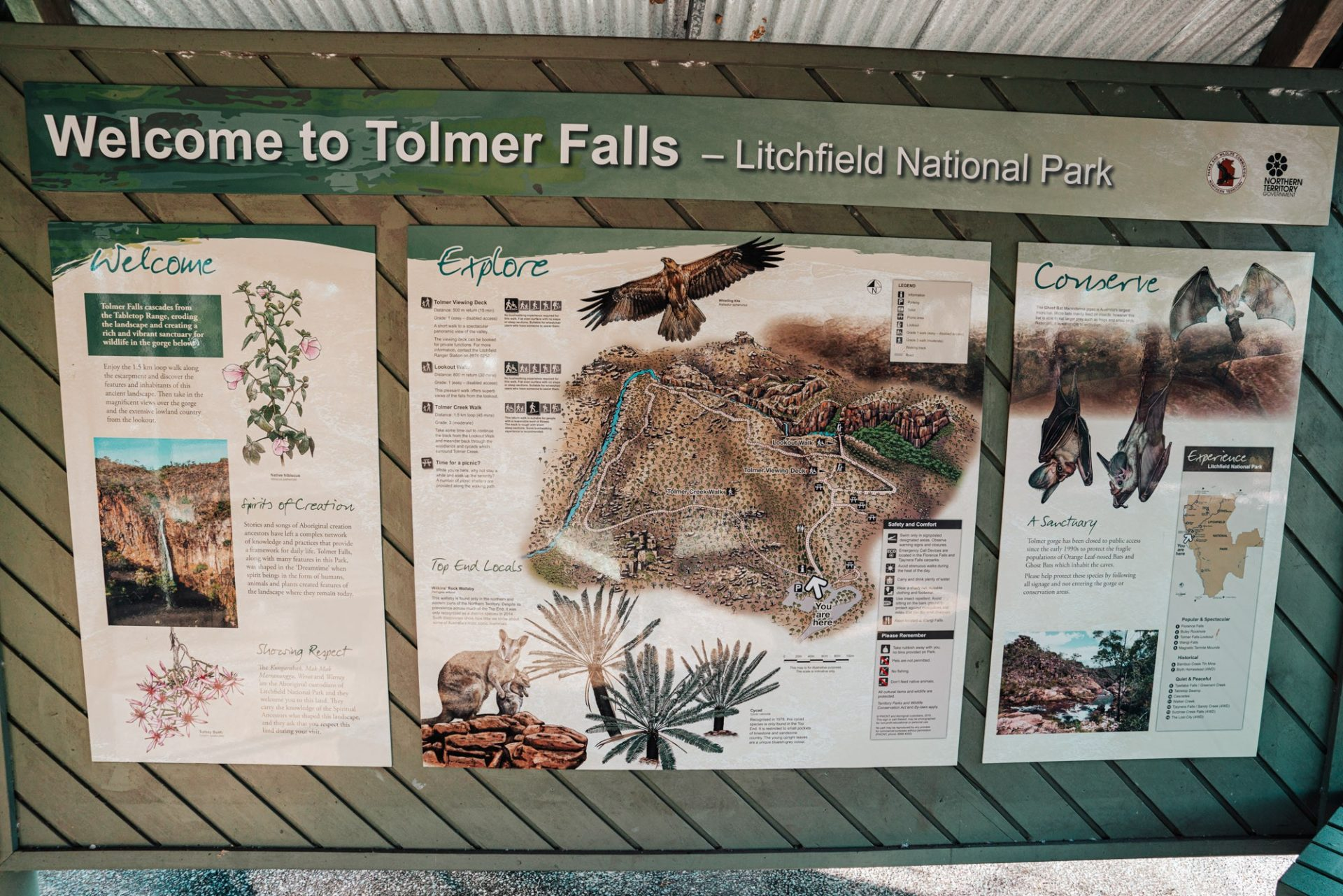Tolmer Falls, Litchfield National Park