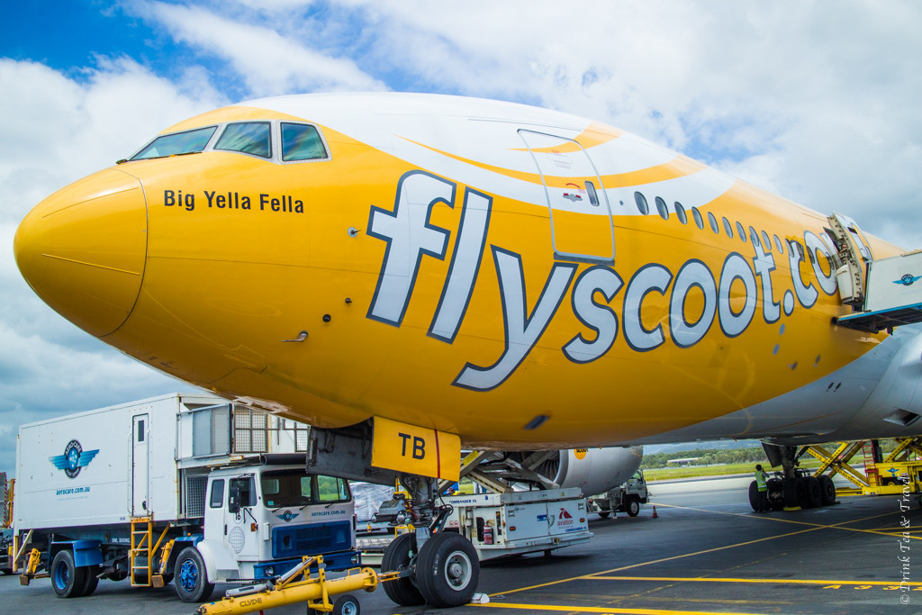 Trip to Australia cost: I'm a big fan of The Yella Fella!