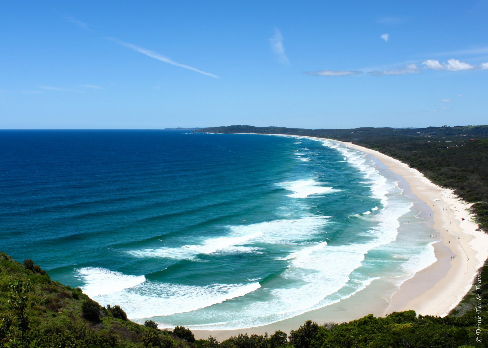 View from the top of Indian Head, Fraser Island