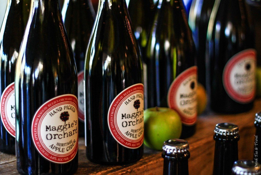 Cider at Maggie Beer's Farm Shop, Barossa Valley