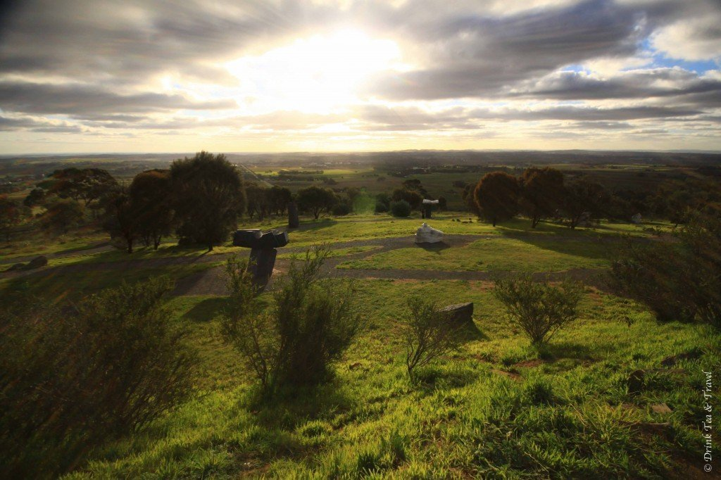 View from the Barossa Sculpture Park, Tanunda