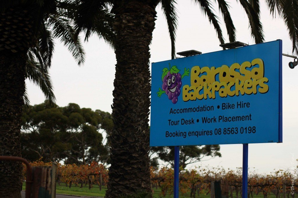 Trip to Australia cost: Barossa Valley Backpackers, South Australia
