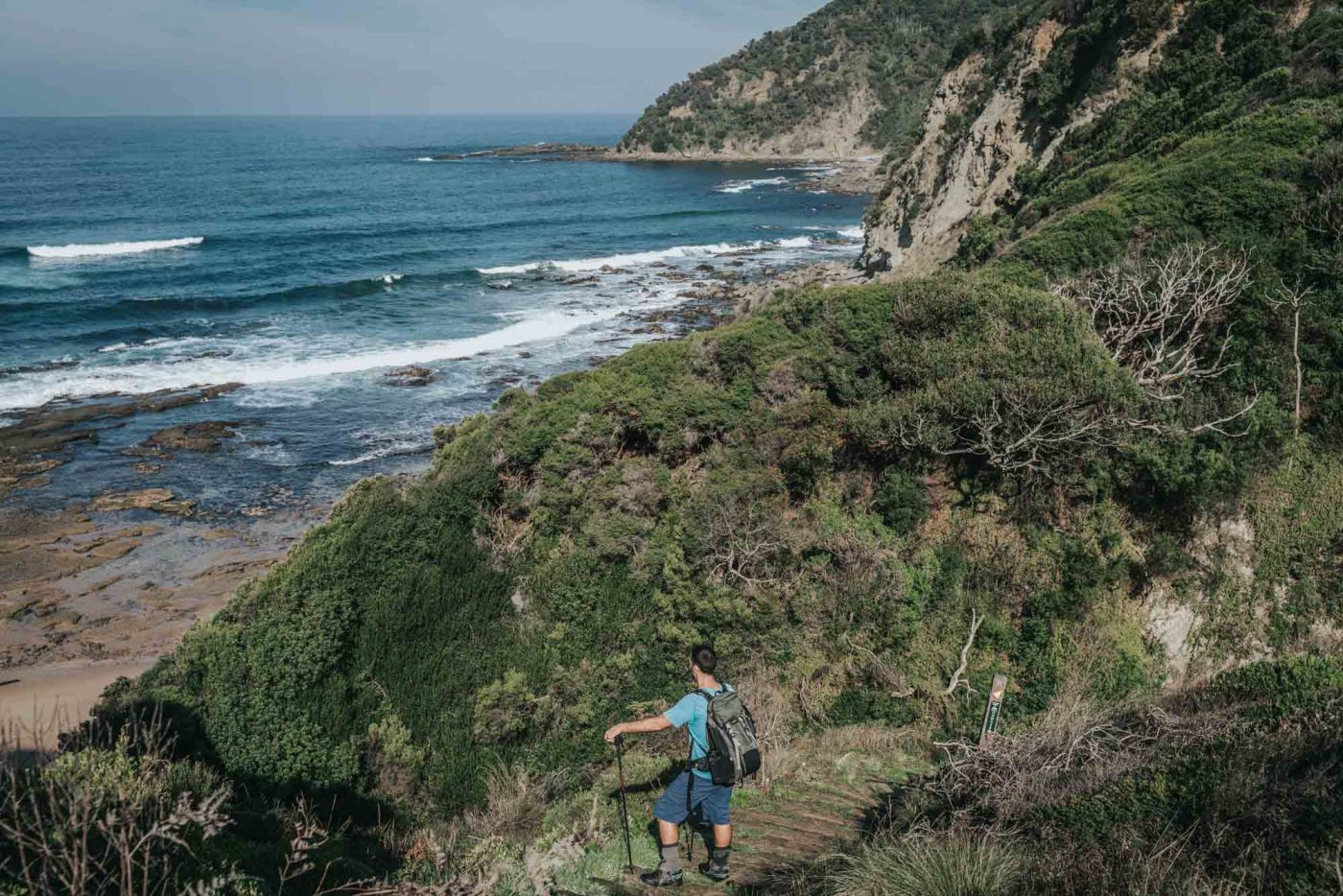 Day hikes along the Great Ocean Walk are an easy alternative to a long 8 day hike!