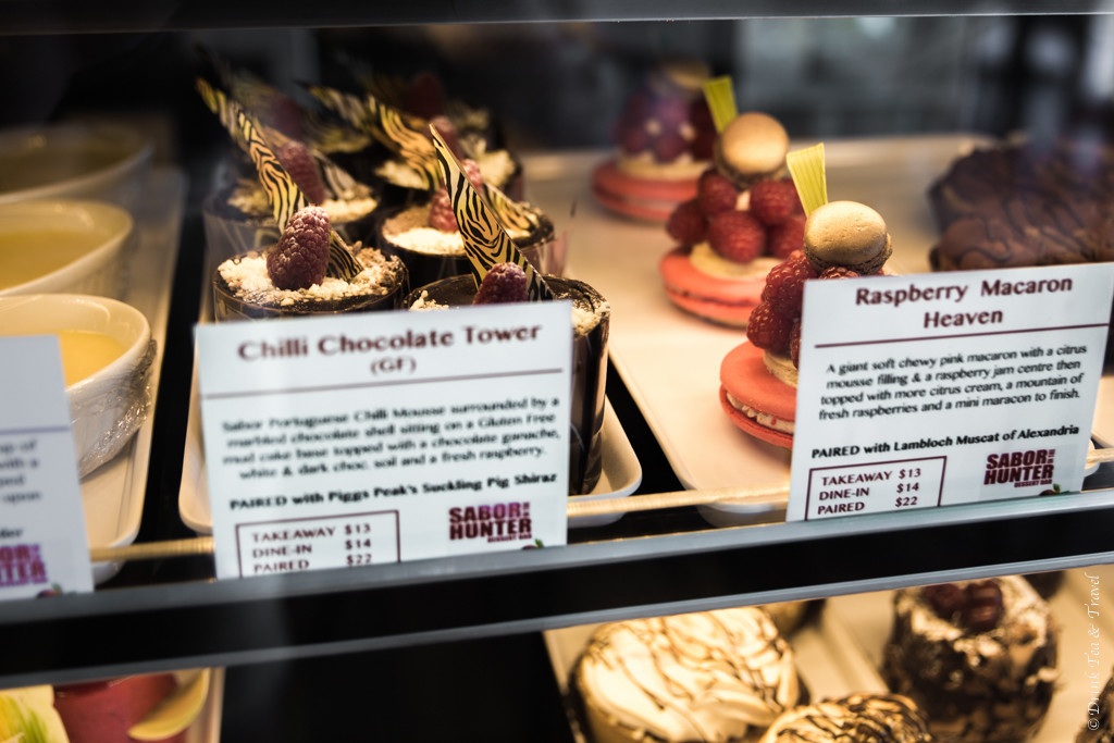 Desserts at the Lambloch Dessert Bar in Hunter Valley. NSW, Australia