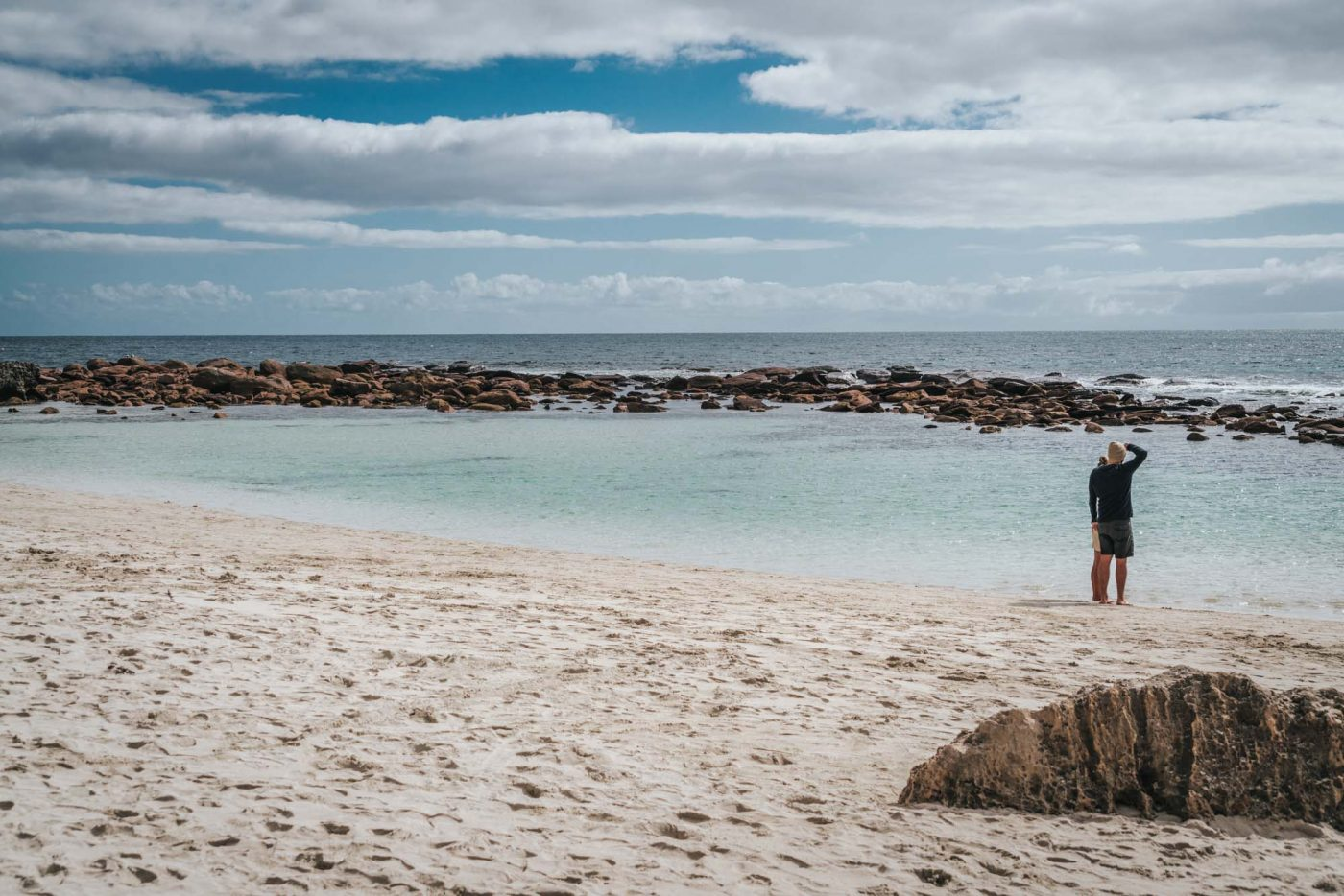 Beautiful Stokes Bay Beach. Kangaroo Island