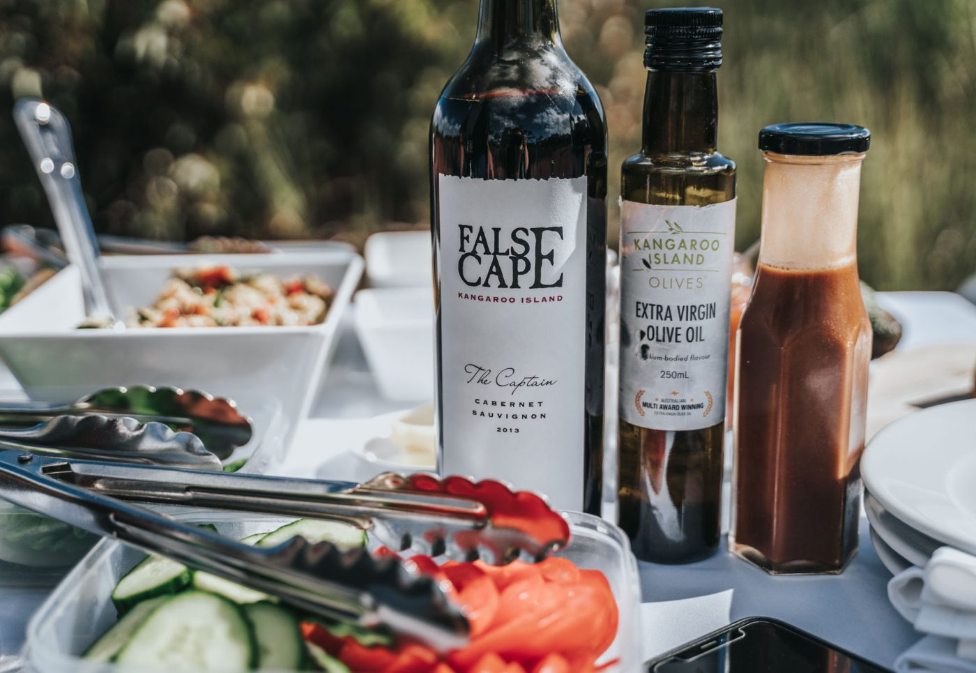 Gourmet meals on Exceptional Kangaroo Island Tour