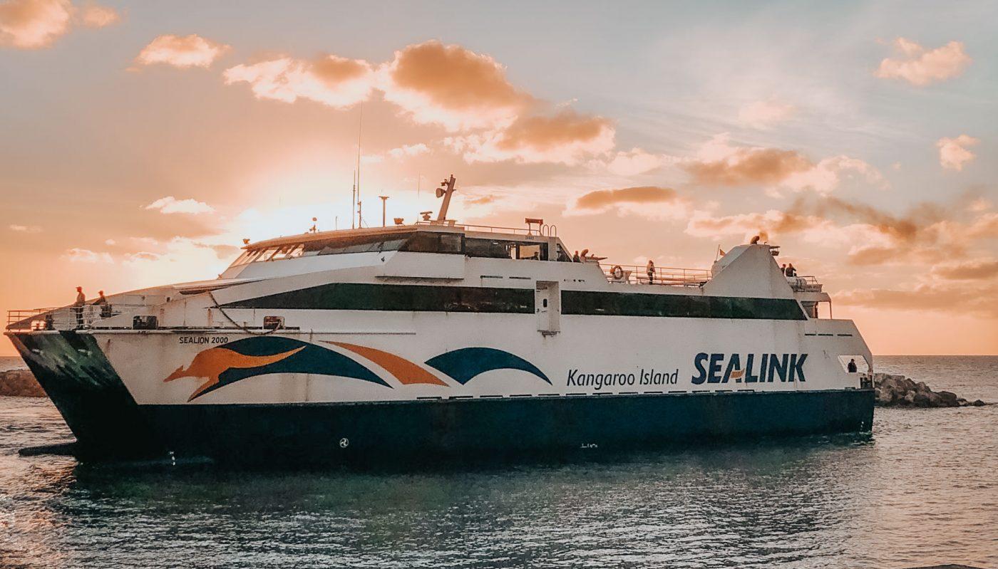 Sealink Ferry on Kangaroo Island
