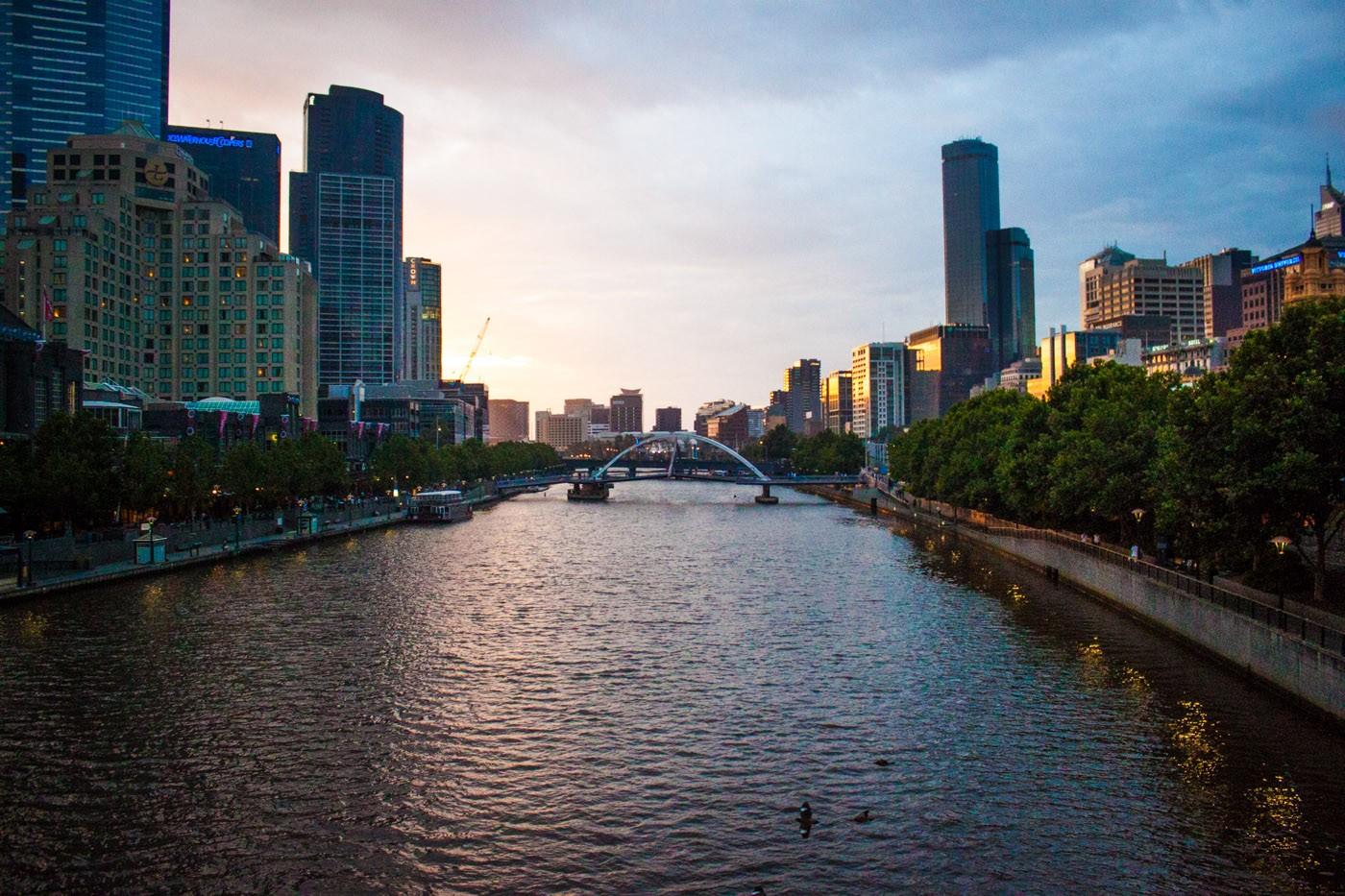 Trip to Australia cost: Melbourne, Australia